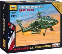 Американский вертолет Апач АН-64 (масштаб: 1/144)
