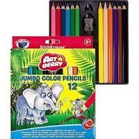 "Цветные карандаши ""Artberry. Jumbo"" (12 цветов; с точилкой)"