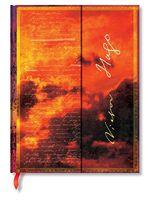 """Записная книжка Paperblanks """"Виктор Мари Гюго. Отверженные"""" нелинованная (формат: 180*230 мм, ультра)"""