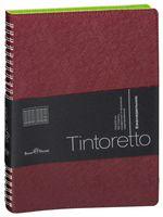 """Ежедневник недатированный """"Tintoretto"""" (B5; бордовый)"""
