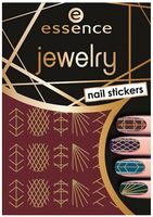 Наклейки для дизайна ногтей (тон: 09)