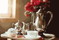 "Картина по номерам ""Доброе утро"" (400x500 мм)"
