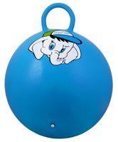 """Мяч-попрыгун """"Слонёнок"""" (45 см; с ручкой; синий)"""