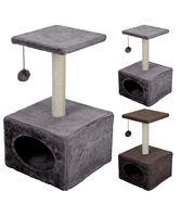 Когтеточка-домик (30х30х53 см)