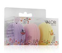 """Набор спонжей для макияжа """"Valori. Macaron"""" (3 шт.)"""