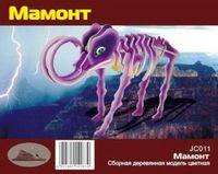 """Сборная деревянная модель """"Мамонт"""""""