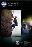 Глянцевая фотобумага HP (25 листов, 250 г/м2, 10 x 15 см)