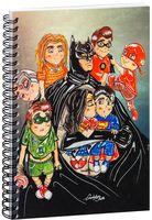 """Блокнот в клетку """"DC Comics"""" A5 (арт. 1236)"""