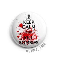 "Значок ""Kill zombies"" (арт. 134)"