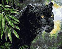 "Картина по номерам ""Черная пантера"" (400х500 мм; арт. PC4050204)"