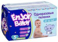 """Пелёнки одноразовые детские """"Enjoy Baby"""" (5 шт.; 600х600 мм)"""