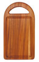 Доска разделочная деревянная (405х230х15 мм; арт. 9/885)