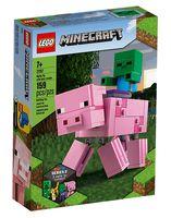 """LEGO Minecraft """"Большие фигурки Свинья и Зомби-ребёнок"""""""