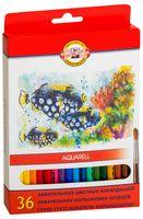 Набор карандашей цветных акварельных (36 цветов)