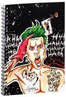 """Блокнот в клетку """"Джокер"""" A5 (арт. 1237)"""