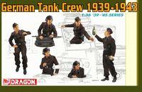 "Набор миниатюр ""German Tank Crew 1939-1943"" (масштаб: 1/35)"