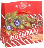 """Подарочная коробка """"Новогодняя посылка"""" (арт. 25591111)"""