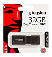 USB Flash Kingston DataTraveler 100 G3 32GB (DT100G3/32GB)