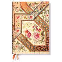 """Записная книжка Paperblanks """"Филигранный цветочный рисунок"""" в линейку (слоновая кость, 130*180 мм)"""