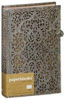 "Записная книжка Paperblanks ""Натураль"" в линейку (формат: 130*180 мм, средний)"