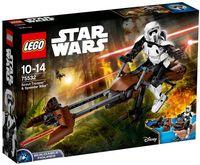 "LEGO Star Wars ""Штурмовик-разведчик на спидере"""