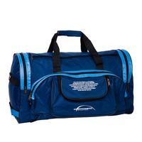 Спортивная сумка П01 (сине-голубая)