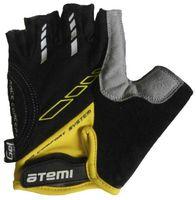 Перчатки велосипедные AGC-04 (XL; жёлтые)