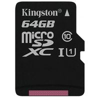 Карта памяти Kingston Canvas Select microSDXC 64GB (SDCS/64GBSP)