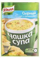 """Суп быстрого приготовления """"Сырный с сухариками"""" (15,6 г)"""