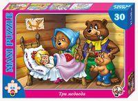 """Пазл Maxi """"Три медведя"""" (30 элементов)"""