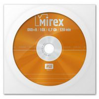 Диск DVD+R 4.7Gb 16x Mirex 150 (в конверте)