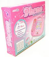 """Музыкальная игрушка """"Розовый телефон"""" (со световыми эффектами)"""