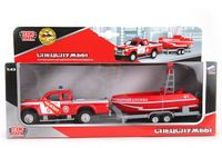 """Игровой набор """"Пожарная служба"""" (масштаб: 1/43; с лодкой)"""