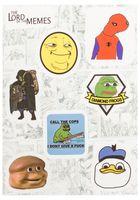 "Набор виниловых наклеек №122 ""Memes"""