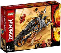 "LEGO Ninjago ""Раллийный мотоцикл Коула"""