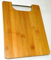 Доска разделочная бамбуковая (280х220х18 мм; арт. 4610010)