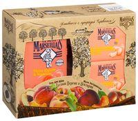 """Подарочный набор """"Белый персик и нектарин"""" (гель, 2 мыла)"""