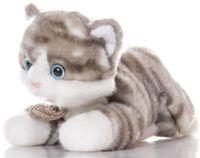 """Мягкая игрушка """"Котенок Серый"""" (30 см)"""