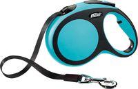 """Поводок-рулетка для собак """"New Comfort"""" (синий, размер L, до 60 кг/5 м)"""