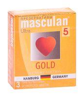 "Презервативы ""Masculan. Gold"" (3 шт.)"