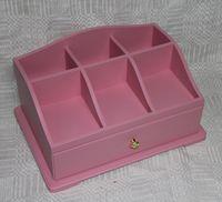 """Комод для косметики """"Розовый"""" (арт. МВ00830.21)"""