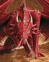 """Алмазная вышивка-мозаика """"Ярость дракона"""" (380х480 мм)"""