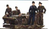 "Набор миниатюр ""Tiger Aces Normandy 1944"" (масштаб: 1/35)"