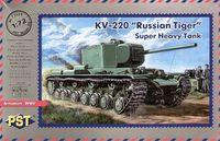 Тяжёлый танк КВ-220 (масштаб: 1/72)