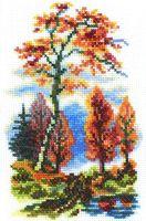 "Вышивка крестом ""Осень"" (100x150 мм)"