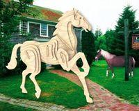 """Сборная деревянная модель """"Лошадь"""""""