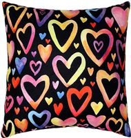 """Подушка """"Яркие сердечки"""" (35x35 см; арт. 08-866)"""