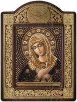 """Вышивка бисером """"Богородица Умиление"""" (с рамкой)"""