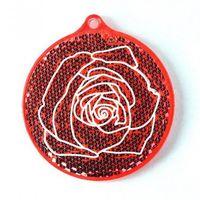 """Фликер """"Роза"""" (красный; арт. 51012.60)"""