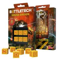 """Набор кубиков D6 """"Battletech. House Davion"""" (6 шт.; желтый)"""